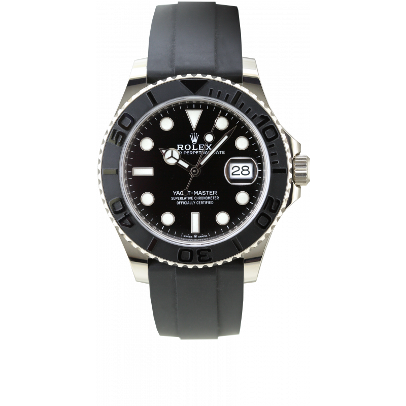 Yacht Master 42MM Or Blanc