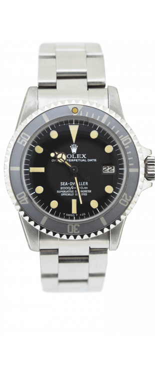 Sea-Dweller Rail Dial
