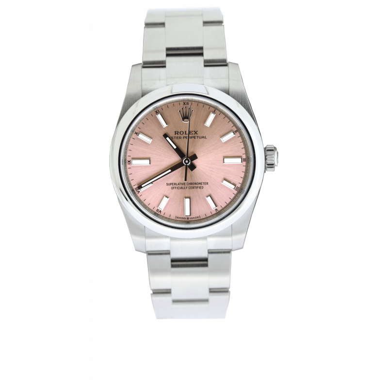 Rolex Oyster Perpetual 34 Pink Dial
