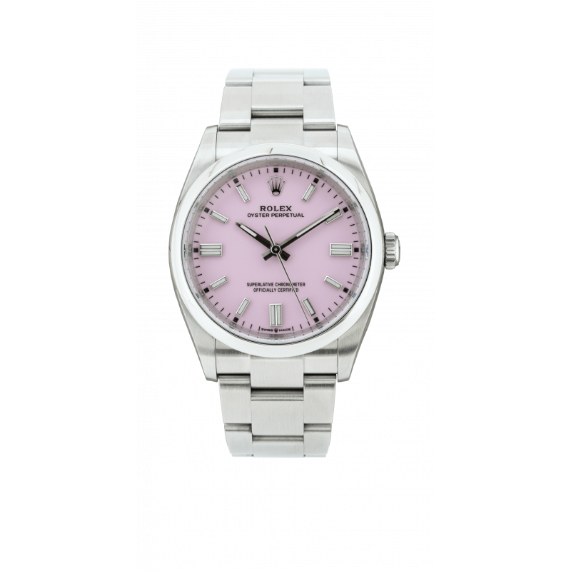Rolex Oyster Perpetual 36mm Pink Dial