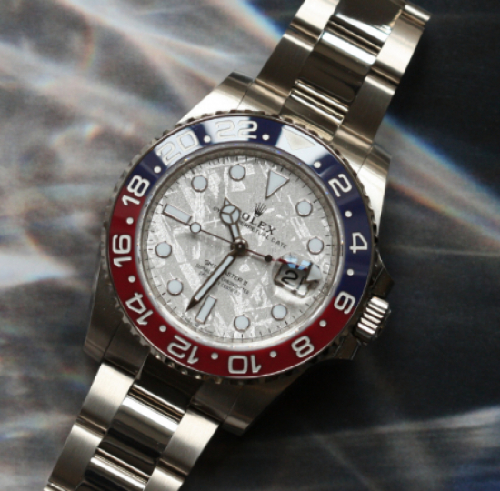 "A technical review of the Rolex GMT Master 1675 MK1 ""Fuchsia Dial"